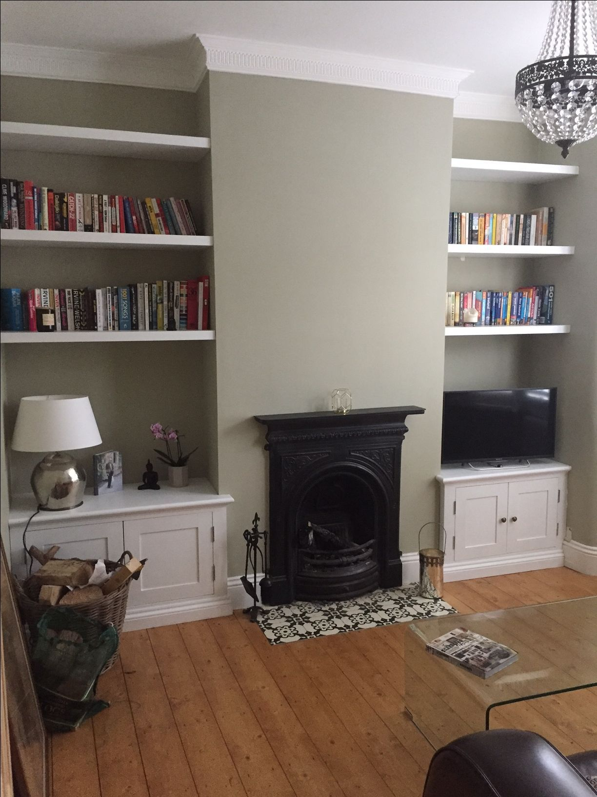 Image Result For Floating Shelves Either Side Of Hearth