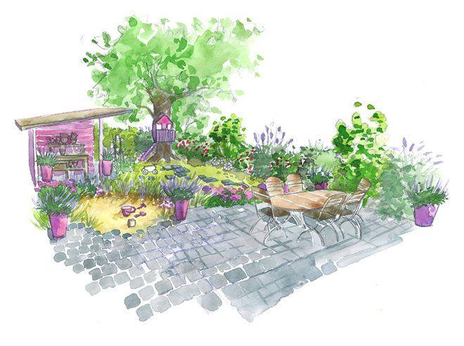 Conseils de paysagiste : un jardin familial | Deco fr, Comment ...