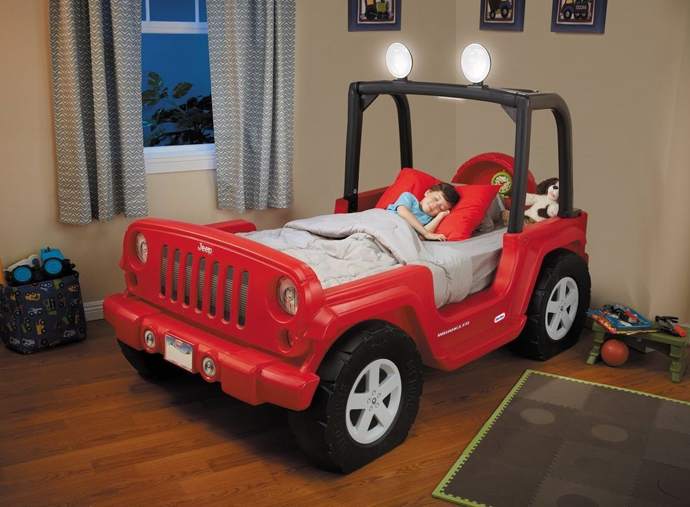 Little Tikes Jeep Bed