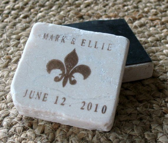 Fleur De Lis Save The Date Magnets Wedding Favors By Mylittlechick