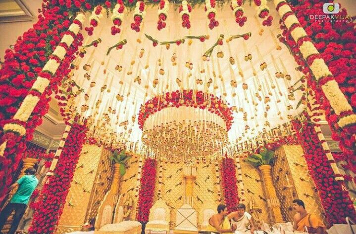 South indian telugu wedding decor indian wedding decor pinterest stage decorations south indian telugu wedding decor junglespirit Choice Image