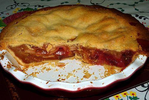 A delicious. Year: Bill's Apple & Rhubarb Pie