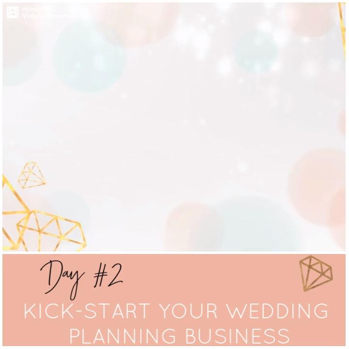 February 2019 Facebook Community: Kick-Start Your Wedding