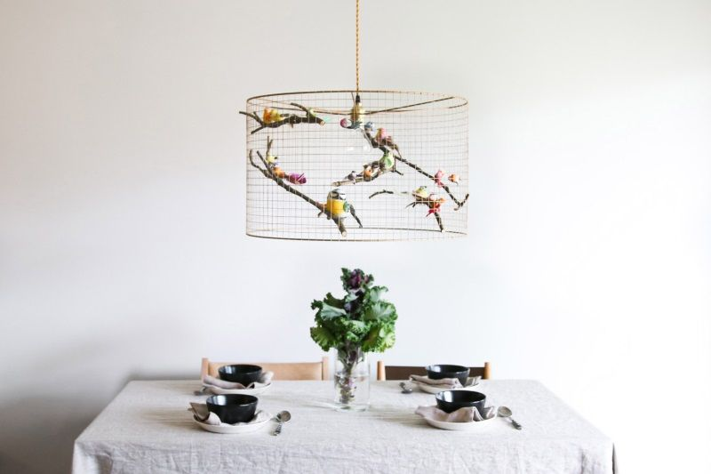 Copper birdcage pendant light chandelier eclectic pinterest copper birdcage pendant light chandelier aloadofball Choice Image