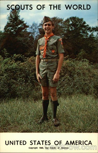 Scouts of the World: United States of America Boy Scouts