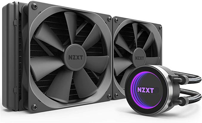 Amazon Com Nzxt Kraken X62 280mm All In One Rgb Cpu Liquid Cooler Cam Powered Infinity Mirror Design Perfo Radiator Fan Fans For Sale