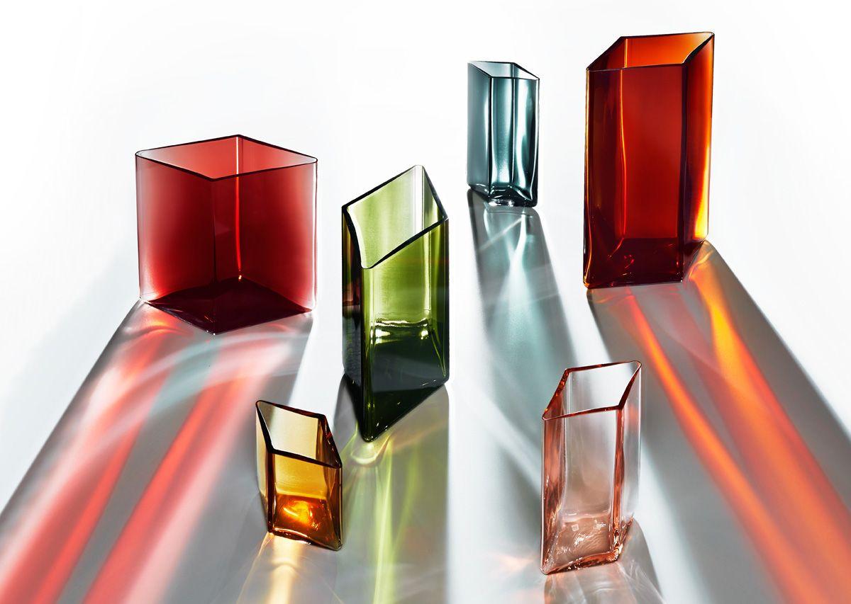 Ruutu Vases by Ronan and Erwan Bouroullec