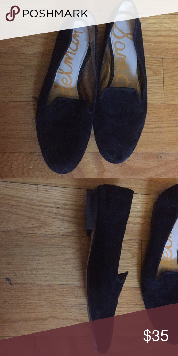 4afc8db87 Black Suede Flats Worn once - didn t fit my foot - in great condition! Sam  Edelman Shoes Flats   Loafers