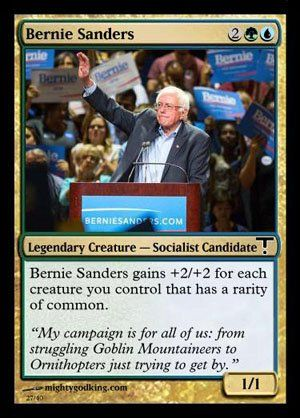 Magic The Gathering Cards For Presidential Candidates The