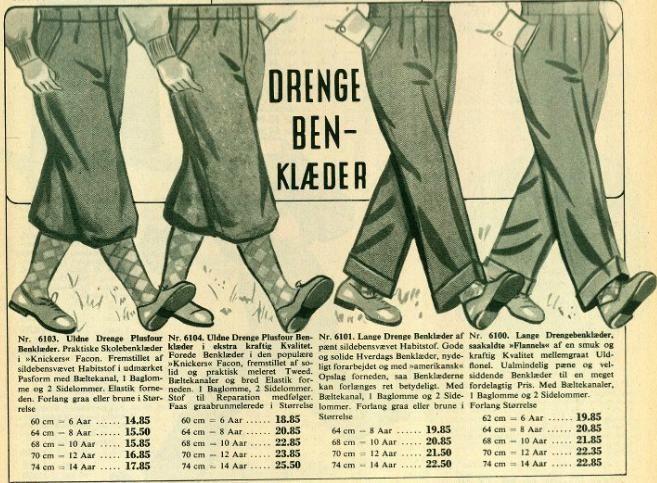 Daells Varehus Katalog fra 1954. Hele kataloget kan findes online på den vedhæftede webadresse.