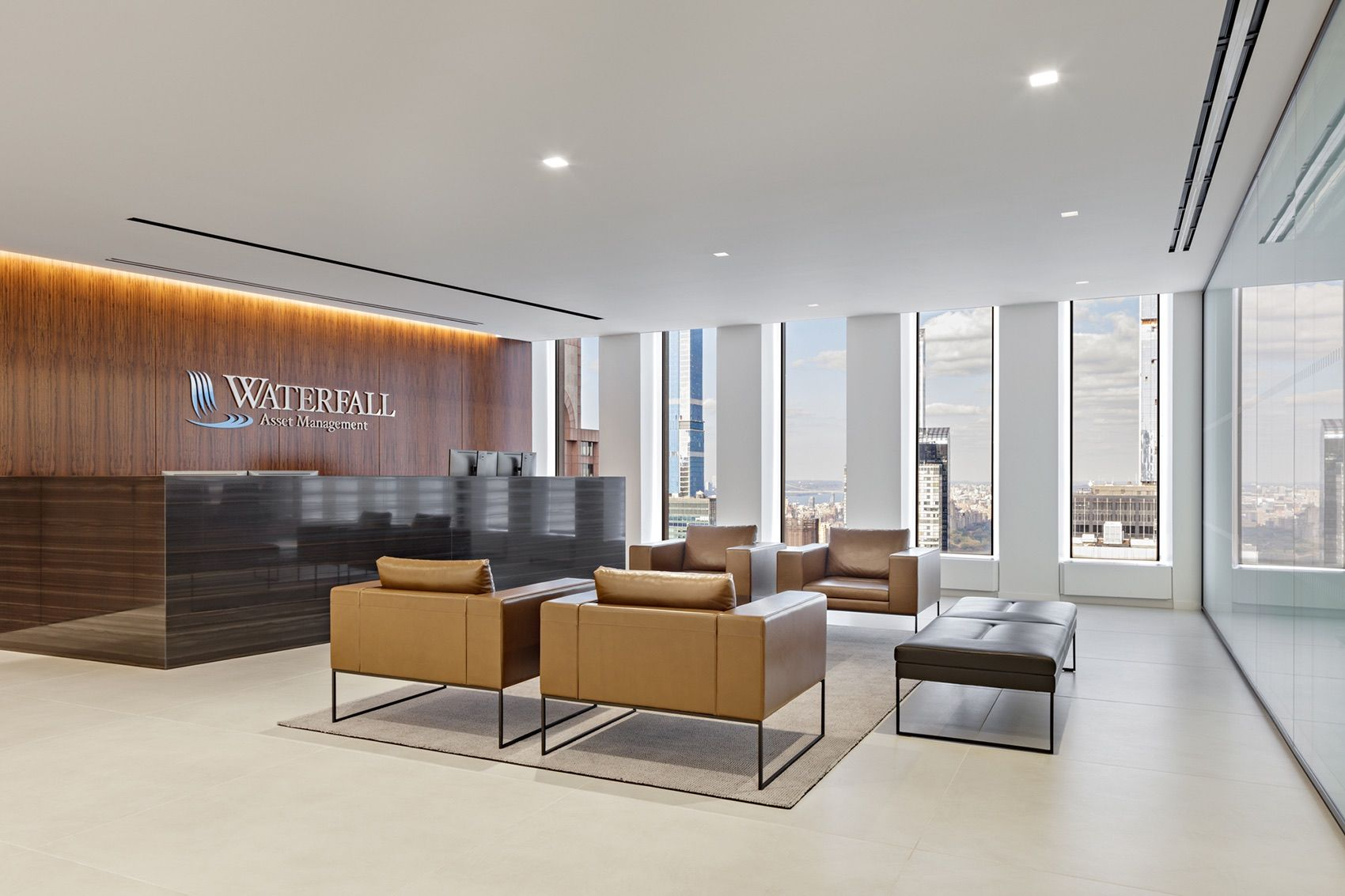 Inside waterfall asset managements new nyc office in 2020