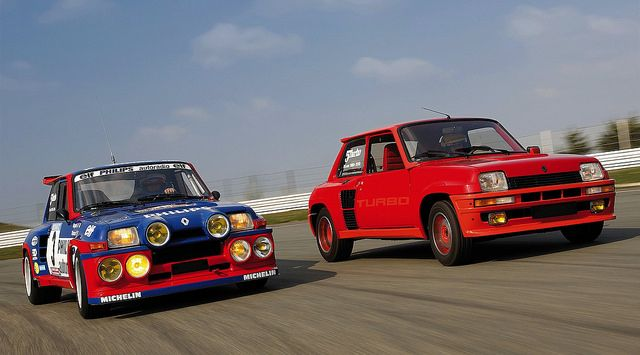 Renault 5 Maxi Turbo & Renault 5 Turbo