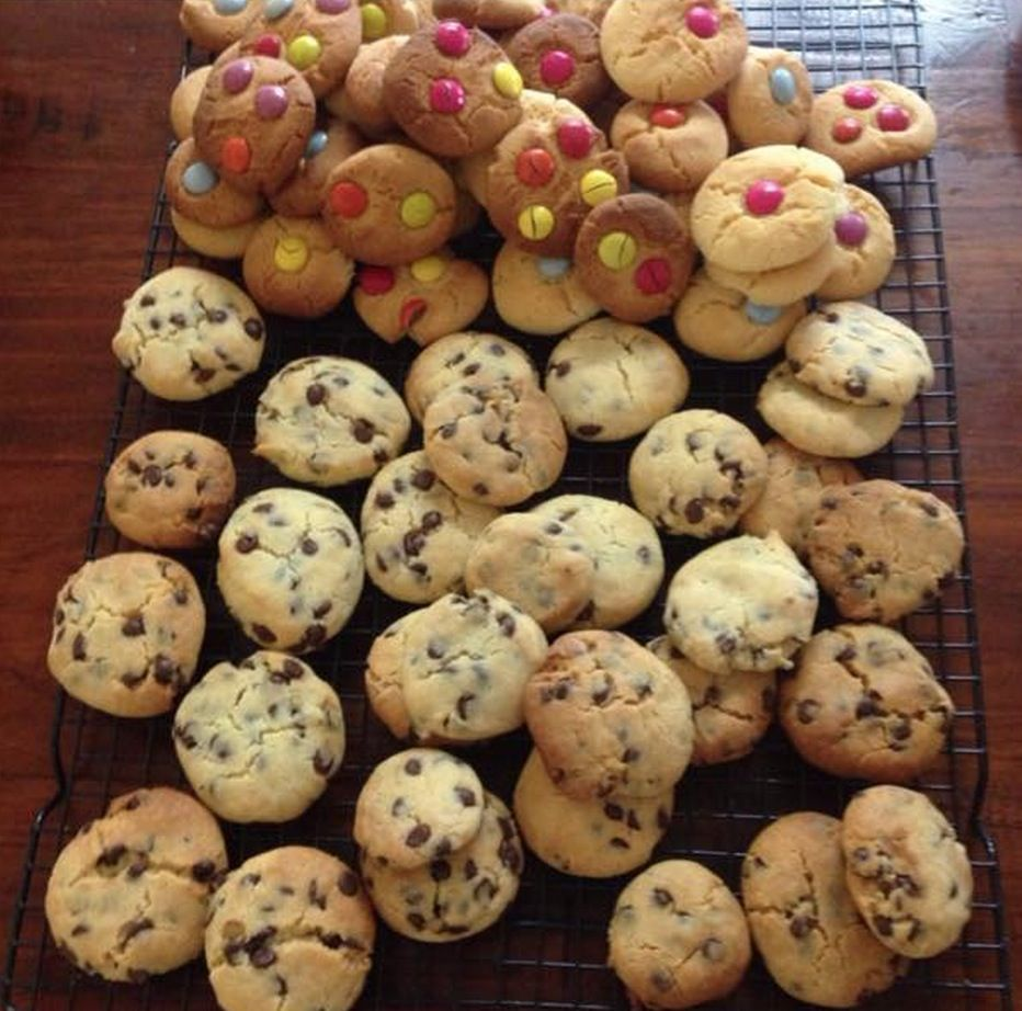Famous 100 Cookie Recipe Condensed Milk Cookies The Whoot 100 Cookies Recipe Cookies Ingredients Basic Cookies