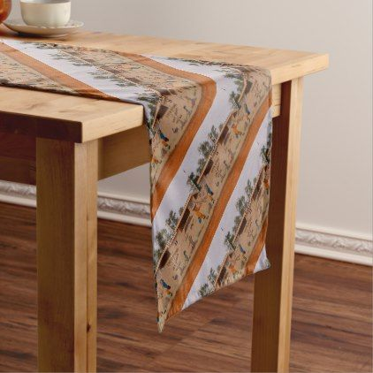 Outback Toilet Block Australia Short Table Runner Zazzle Com Table Decor Table Runners