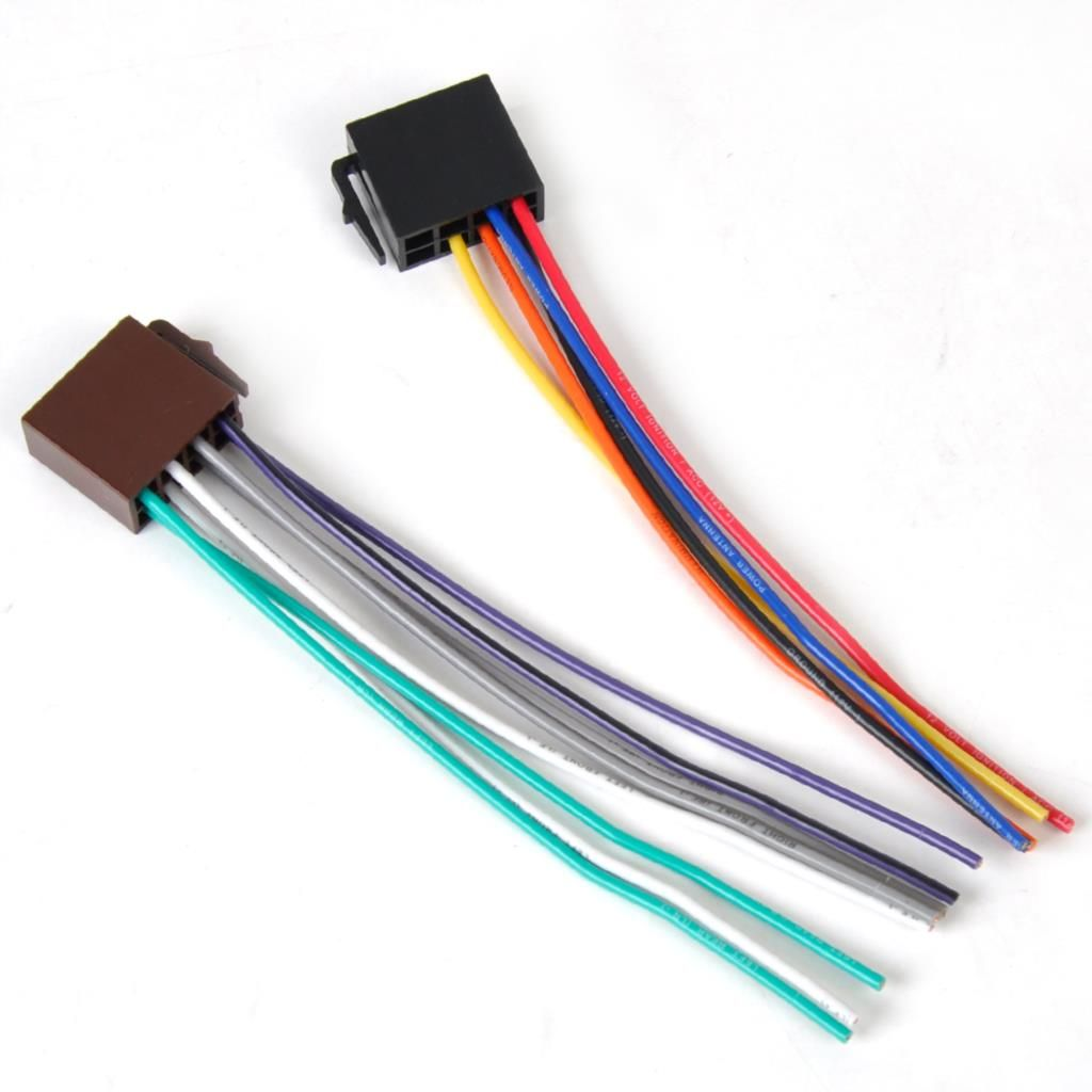 new universal iso wire harness female adapter connector cable new universal iso wire harness female adapter connector cable radio wiring connector adapter plug kit for