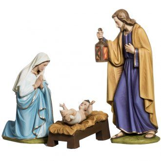 Holy Family fiberglass statues 60 cm | online sales on HOLYART.co.uk