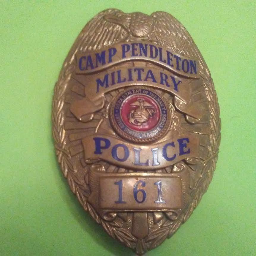 Mct Camp Pendleton Badge