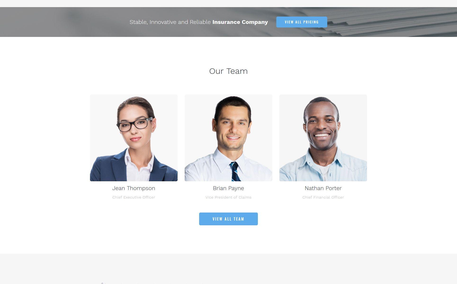 Progressive Insurance Clean Html Bootstrap4 Landing Page