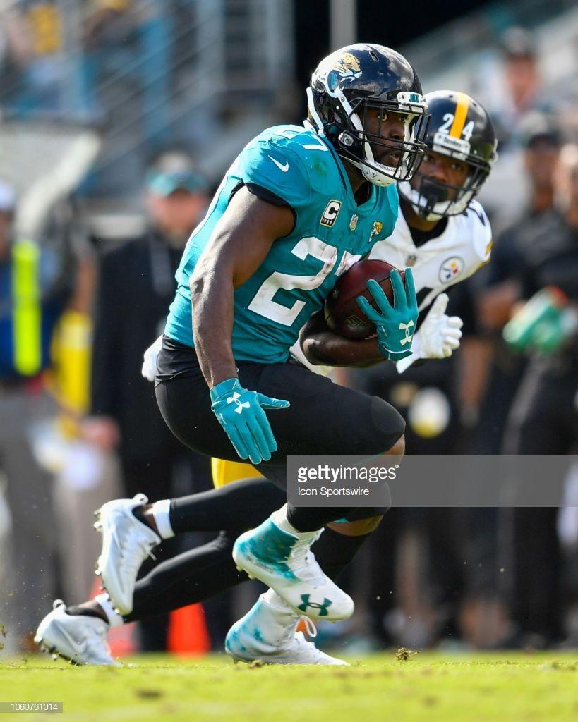 Jacksonville Jaguars Running Back Leonard Fournette During The First