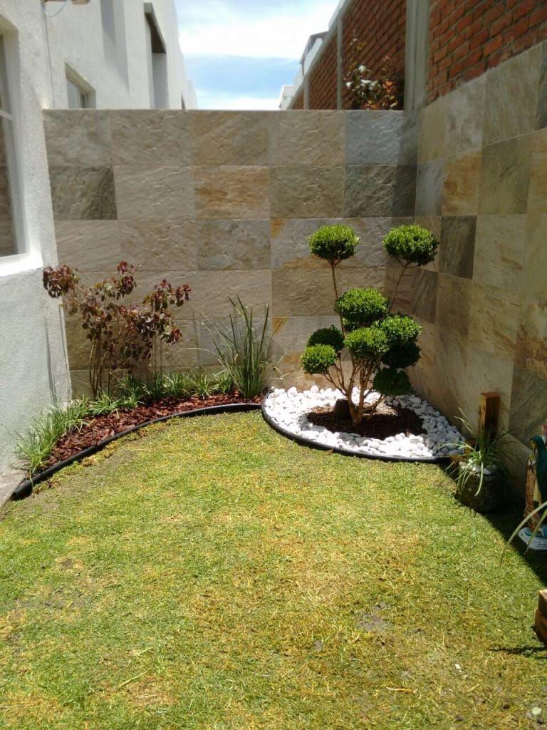 Jardins minimalistas por arqca minimalista em 2019 for Foto casa minimalista