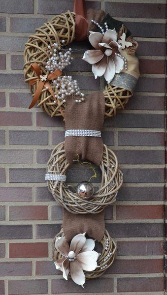 Photo of Door wreaths – * Door wreath * Shop name: A&E decoration – a designer piece by Antoni …