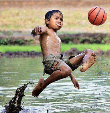 Image result for indian kid in the water