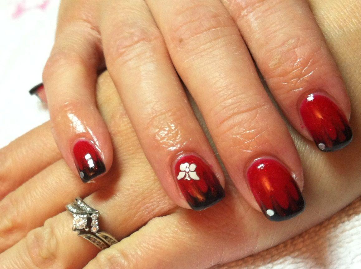 Red Gel Nail Design Trend - Red Gel Nail Design Trend Nail Designs Pinterest Red Gel Nails