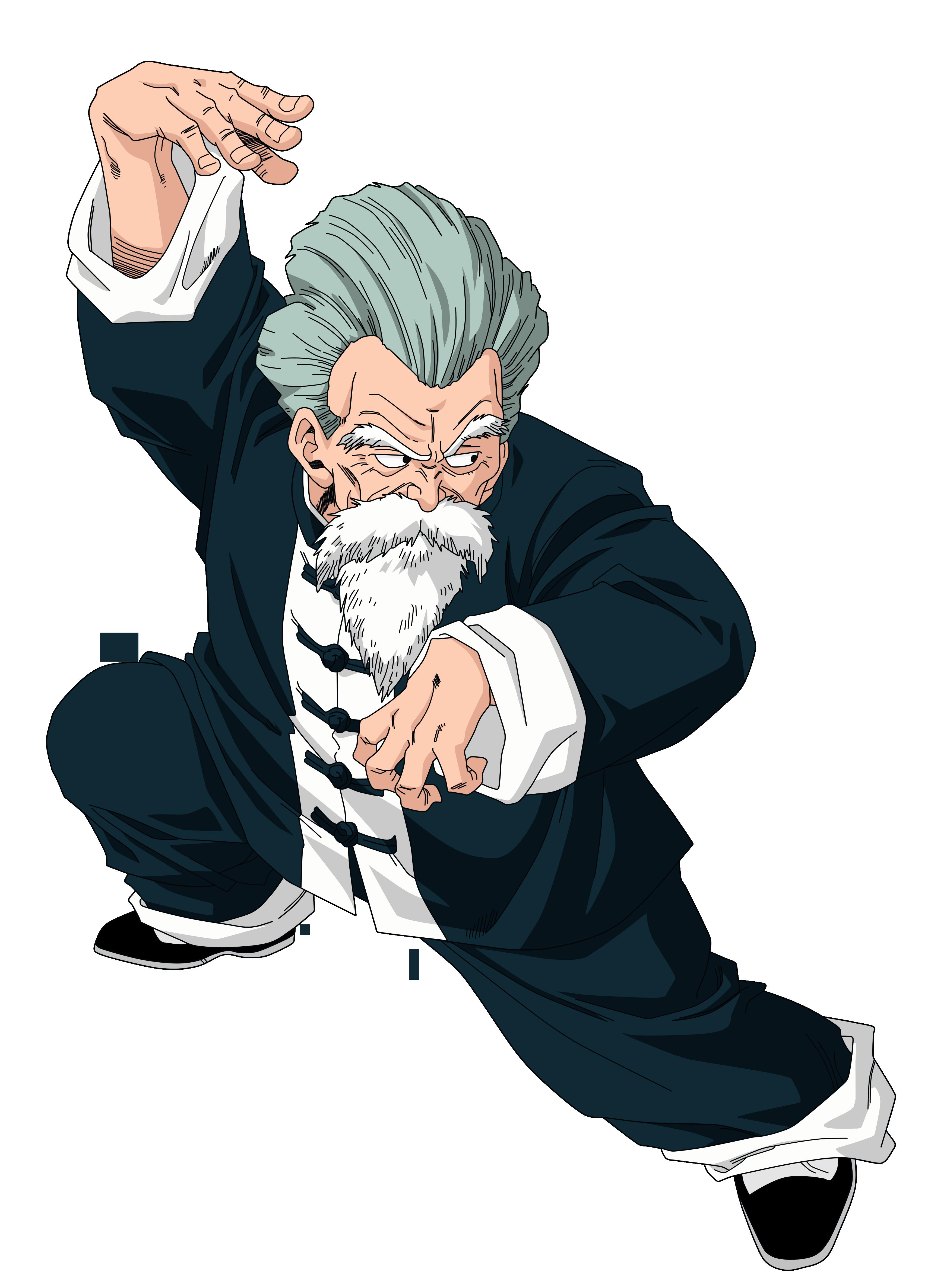 Jackie Chun Master Roshi Render Extraction Png By Tattydesigns On Deviantart Dragon Ball Dragon Ball Z Png