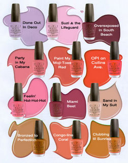 OPI nail polish color....I LOVE the names they come up with ...