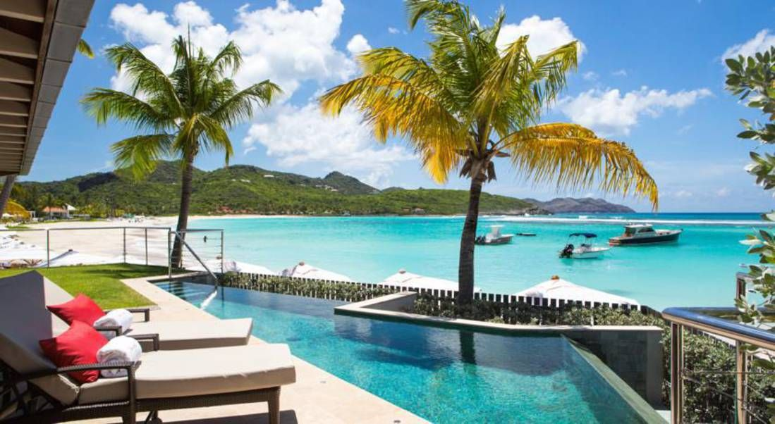 Une villa de luxe à Saint-Barth Travel Pinterest Caribbean and - decoration villa de luxe