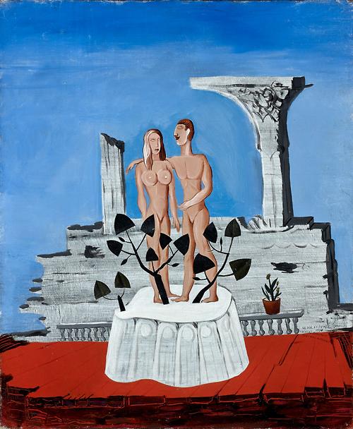 Victor Brauner (1903-1966), Adam and Eve, 1931