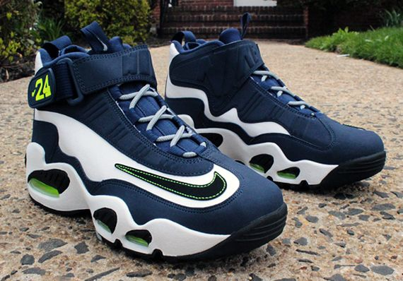 buy online 8548c b15aa 354912 102 Nike Air Griffey Max 1 White Black Midnight Navy Stealth