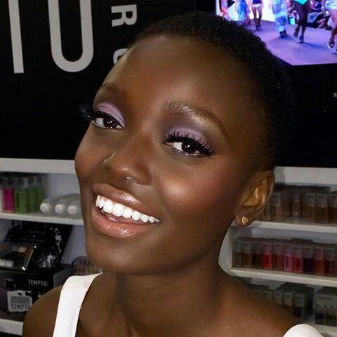 makeup dark skin // pele negra  dark skin makeup makeup
