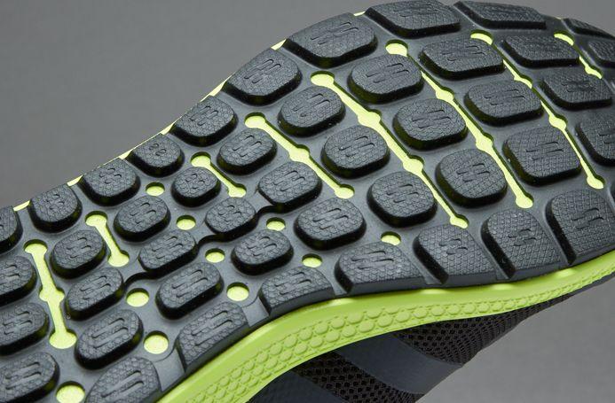 Adidas energia rimbalzare nero / nero / giallo e nero adidas