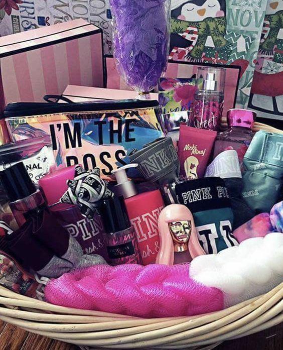 Victoria Secret Baskets #birthdaybasket Victoria Secret