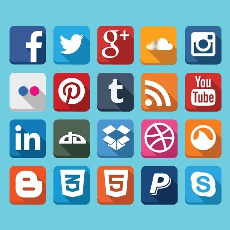 17 Best images about Social Media Icons on Pinterest | Circles ...