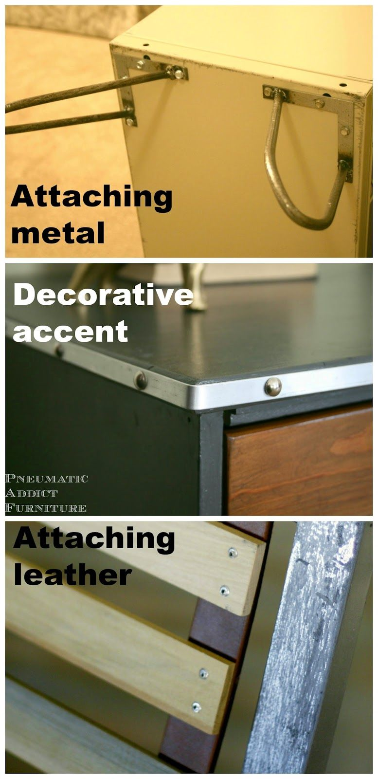 How to rivet wood andor leather furniture blog