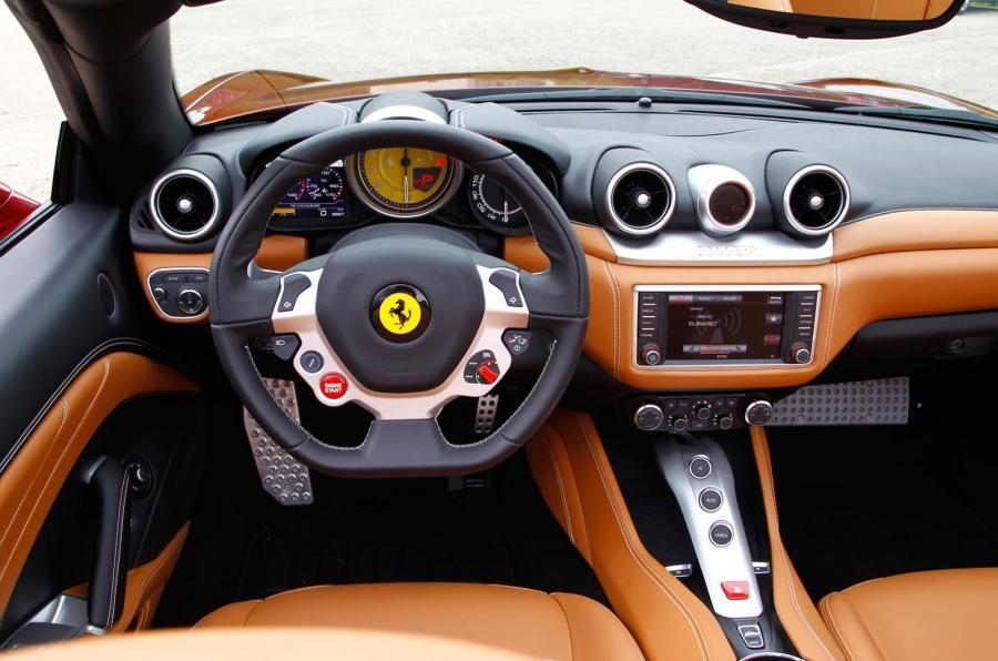 Ferrari California T Interior Dashboard Ferrari California T