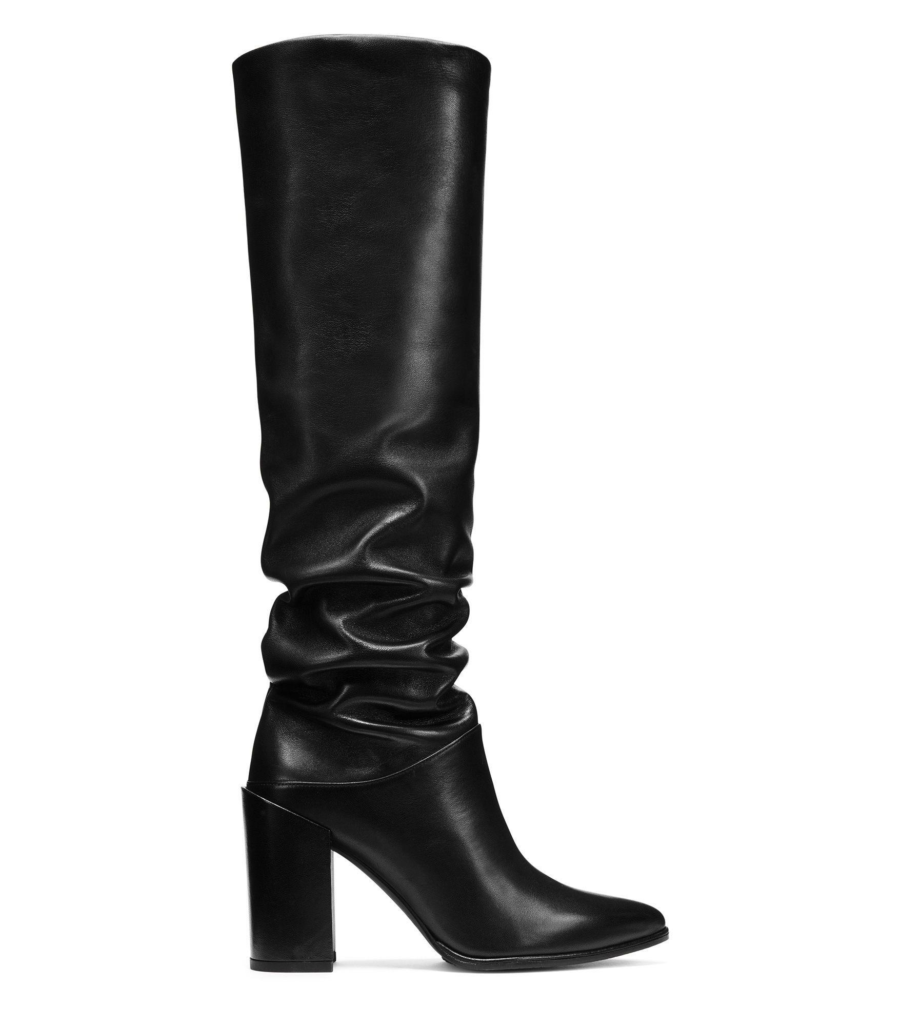 Stuart Weitzman Shoes, Scrunchy Nappa High Heel Boot