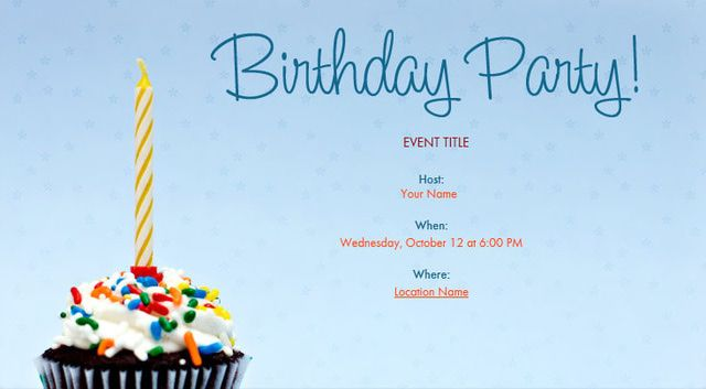 Where To Find Free Printable Birthday Party Invitations By Evite
