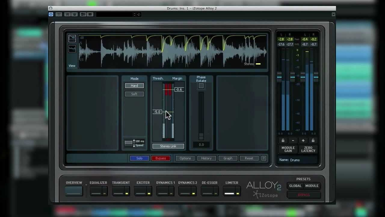 Alloy 2 Mixing Drums Music mixing, Music tech, Drums