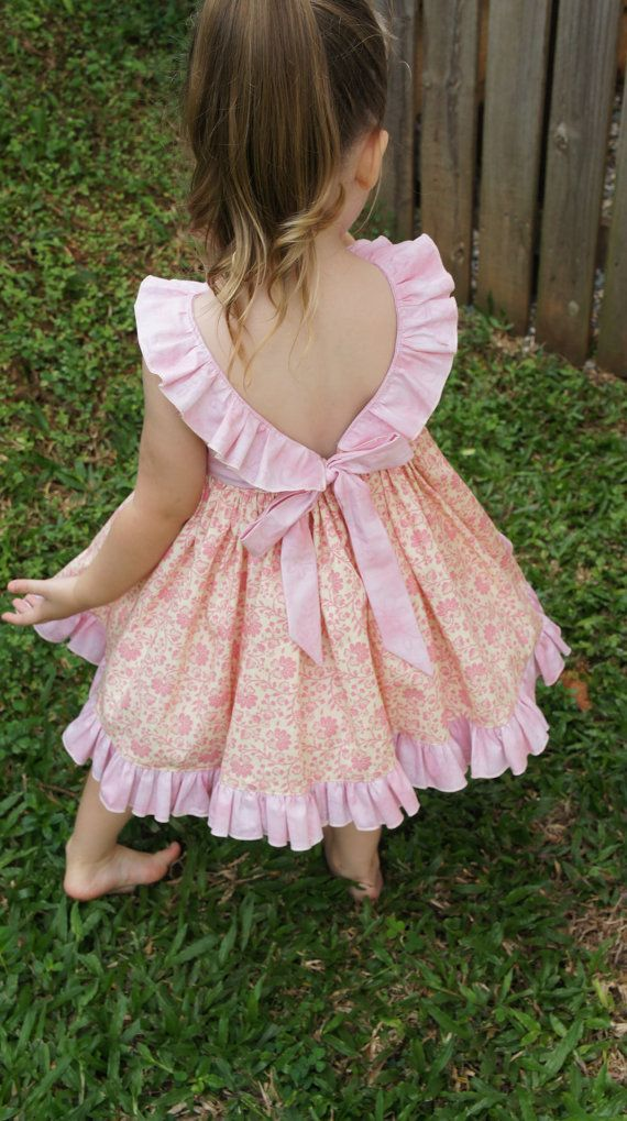 38dc276200315 The Adele Ruffle Dress pdf sewing pattern Size 1 to 5 | Home Ideas ...