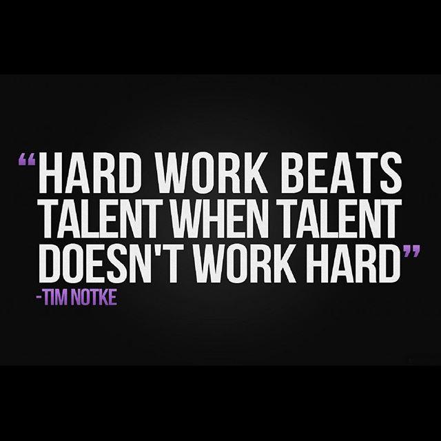 A little reminder to start your week. #MotivationMonday #workhard #husle #neverquit