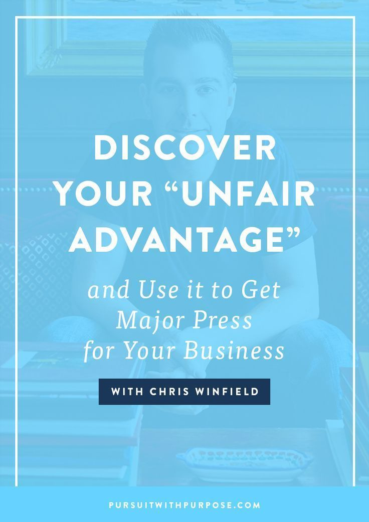 """Episode 03 Discover Your """"Unfair Advantage"""" and Use it To"""