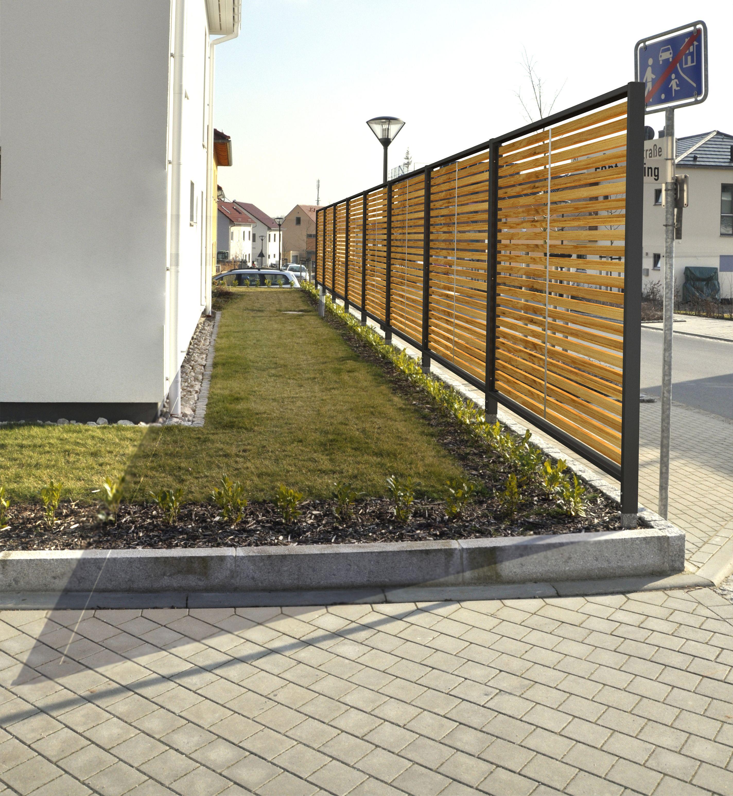 Sichtschutzzaun by Stahlzart