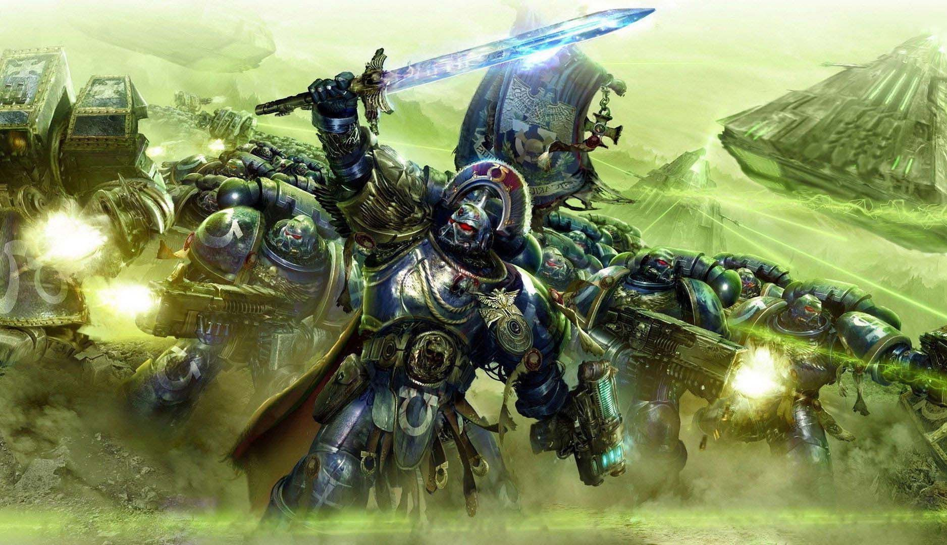 warhammer 40k-ultramarines artist unknown | Warhammer 40k