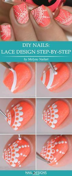 Super Easy DIY Nails Designs Every Girl Should Know ★ See more: https://naildesignsjournal.com/diy-nails-easy-designs/ #nails