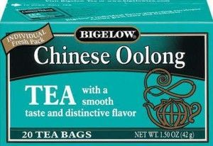 Bigelow oolong tea weight loss