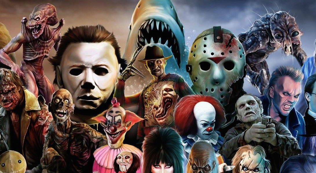 Horror Movie Collage Wallpaper - Google Search