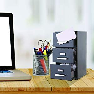 File Cabinet Business Card Holder From Amazon Office